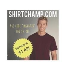 ShirtChamp.com coupons